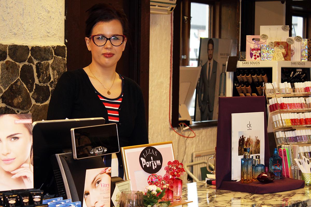 Erika Backteman är väldigt nöjd efter flytten av sin verksamhet. Foto: Camilla Lagerman