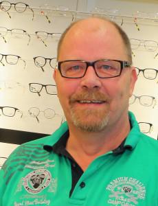 Optiker Lars Sjöstedt. Foto: Fredrik Norman