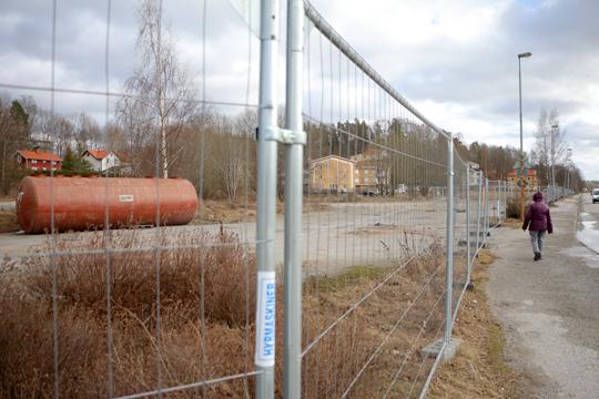 Nu skall Kv. Bulten saneras från giftiga metaller. Foto: Fredrik Norman