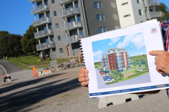 Eftertraktade bostäder. Sjöbrisens höghus är nu snudd på fulltecknat. Arkivfoto: Fredrik Norman