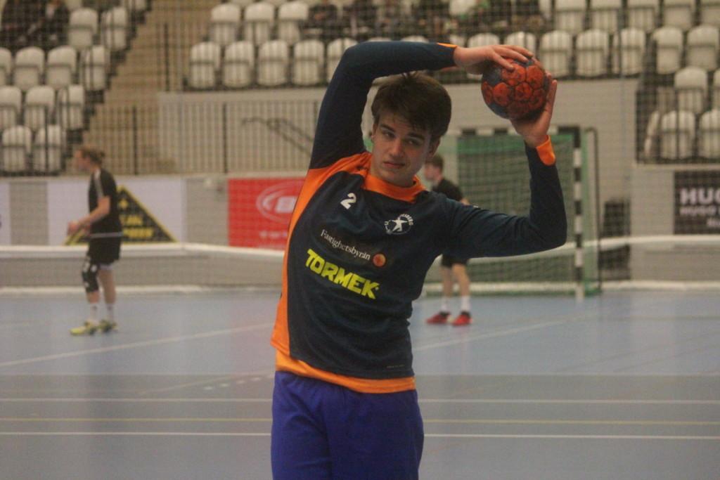 Född 1999 blir Fredrik Karlsson klart yngst i LIF Lindesbergs A-trupp. ARKIVFOTO: Hannes Feldin