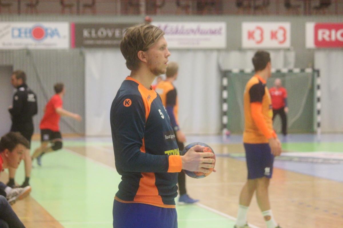 Axel Rämhed, här i samband med vårens Örebromatch. ARKIVFOTO: Hannes Feldin
