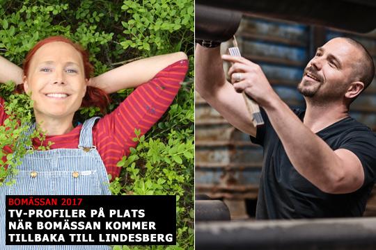 Jenny Järvholm och Björn Christiernsson är klara för Bomässan i Lindesberg i nästa månad. Foto: Pressbilder