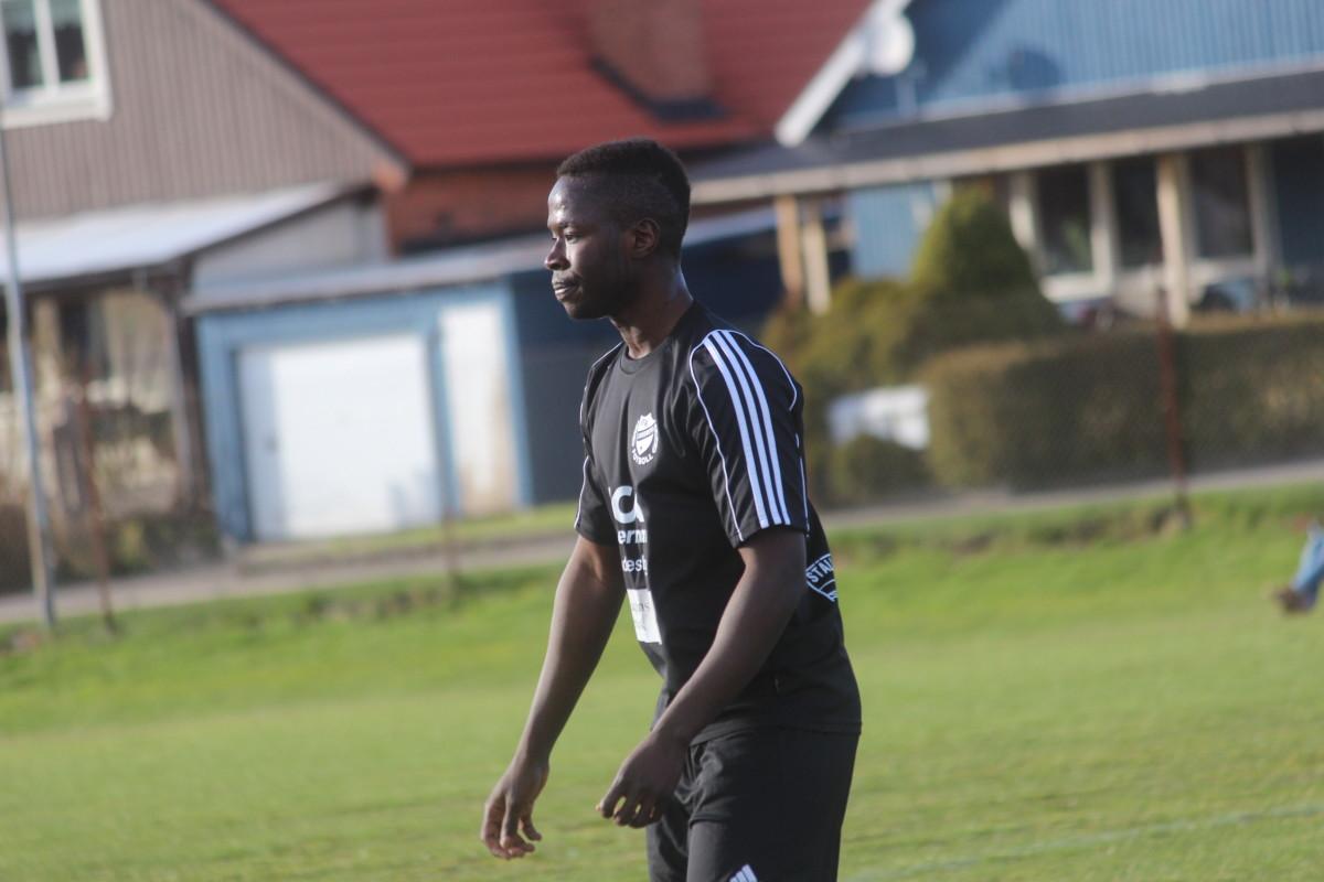 Två vinster och en oavgjord är facit för Lamin Mohameds IFK Lindesberg. ARKIVFOTO: Hannes Feldin