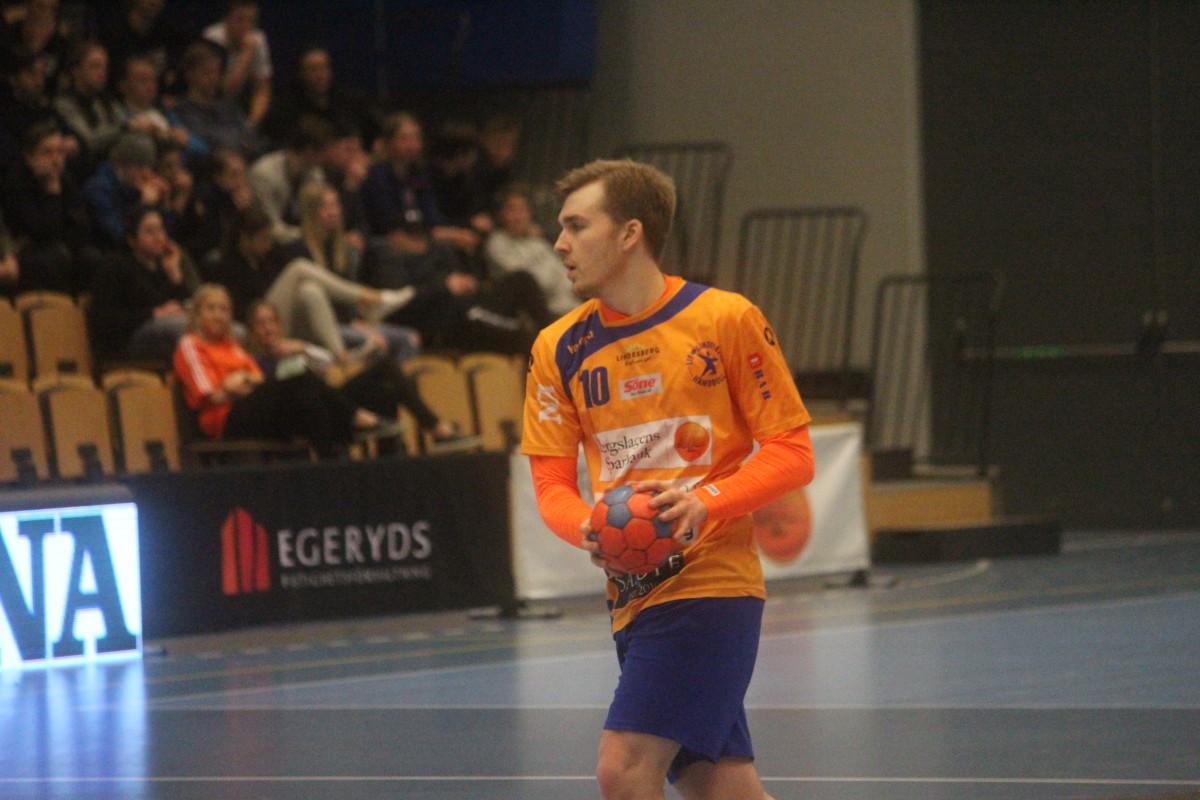 Albin Järlstams tid i LIF Lindesberg är över, i alla fall för den här gången. ARKIVFOTO: Hannes Feldin