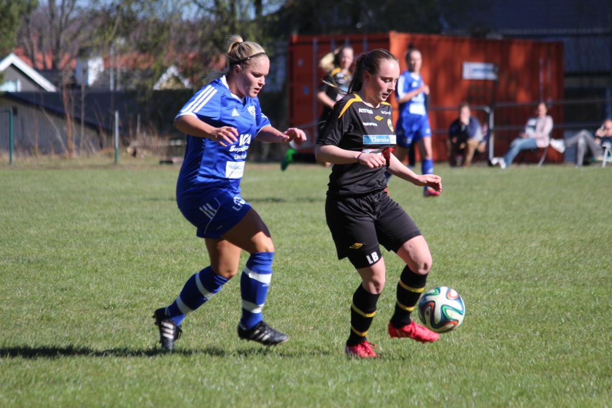 Josefine Eriksson stod för IFK:s kvitteringsmål tidigt i den andra halvleken. FOTO: Hannes Feldin