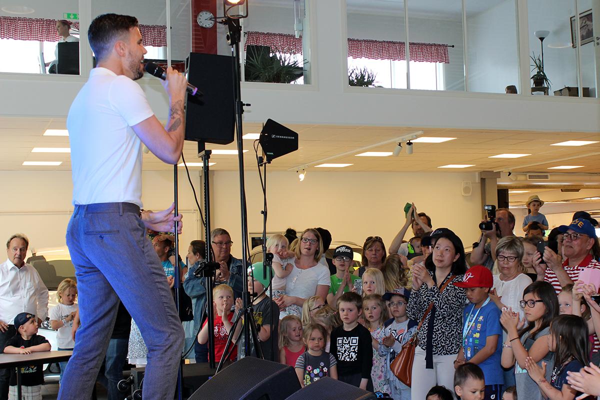 En förväntansfull publik. Foto: Camilla Lagerman