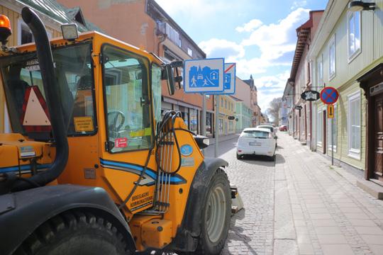 Sommarskyltning på Kungsgatan. Foto: Fredrik Norman