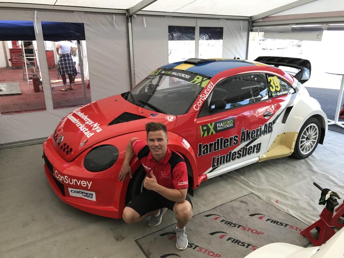 Tillsammans med Per Eklund och sina sponsorer har Philip ordnat bil. FOTO: Gehrman Motorsport