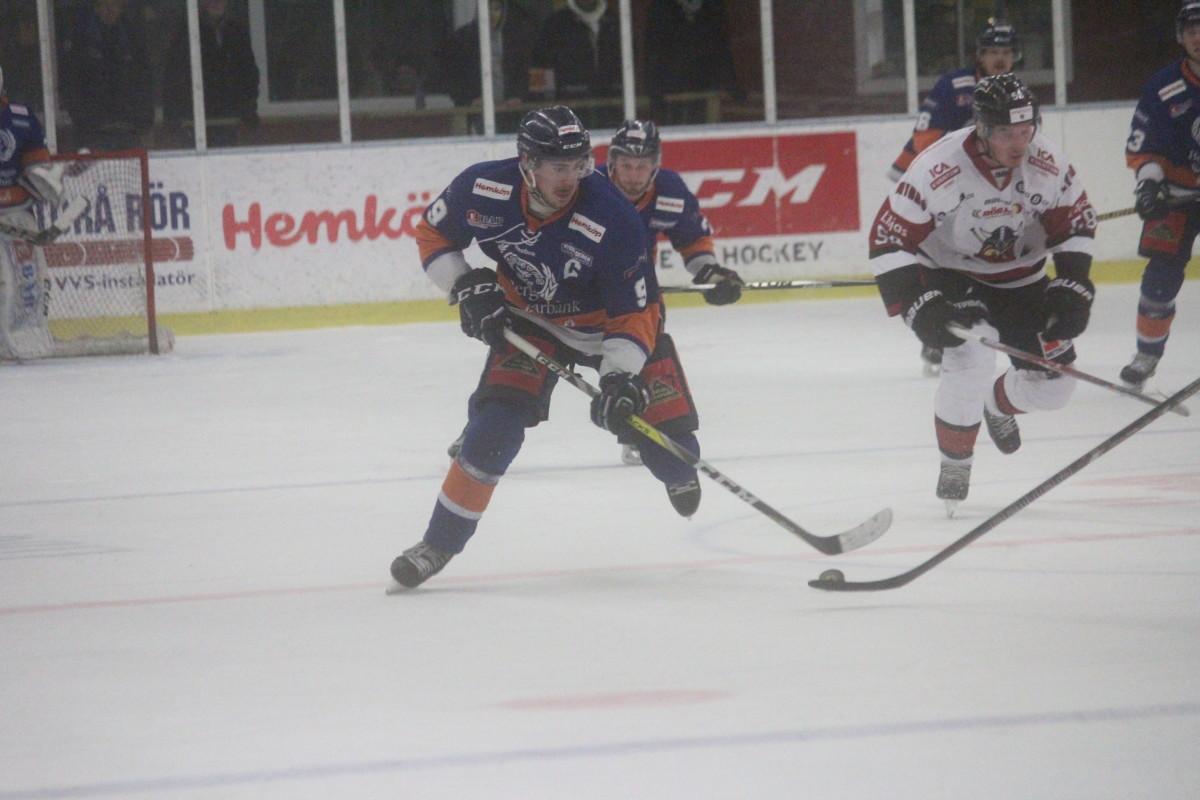 Johan Persson gjorde under vintern sin poängbästa säsong någonsin. ARKIVFOTO: Hannes Feldin
