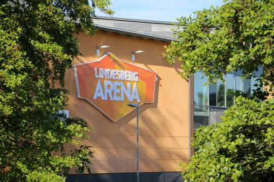 Nu blir Lindesberg Arena Lekarena. Foto: Fredrik Norman