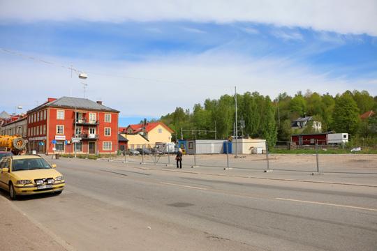 Jätteintresse för nyproducerade verksamhetslokaler. 2000 kvm har redan fyllts med hyresgäster, nu väntar man bara på att huset skall byggas. Foto: Fredrik Norman