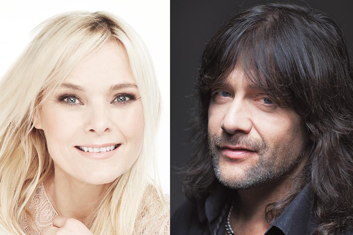 Sofia Källgren och Robert Wells kommer till Ramsberg i sommar. Pressbild: Anette Ståhl