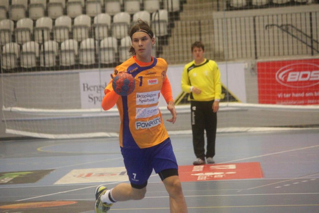 Med fyra fullträffar blev Jesper Nilsson bästa målskytt i LIF för dagen. ARKIVFOTO: Hannes Feldin
