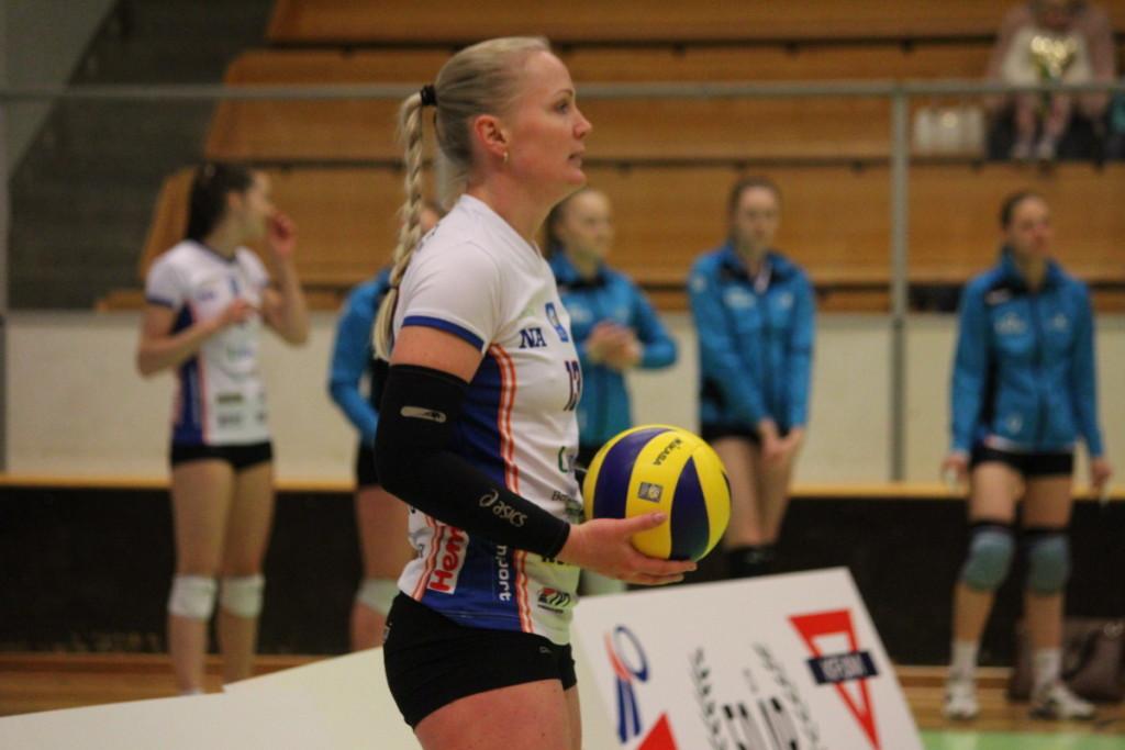 Martina Konecna är en av många spelare som lämnar Linde. ARKIVFOTO: Hannes Feldin